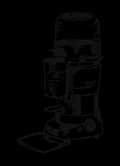Moulin à café filtre