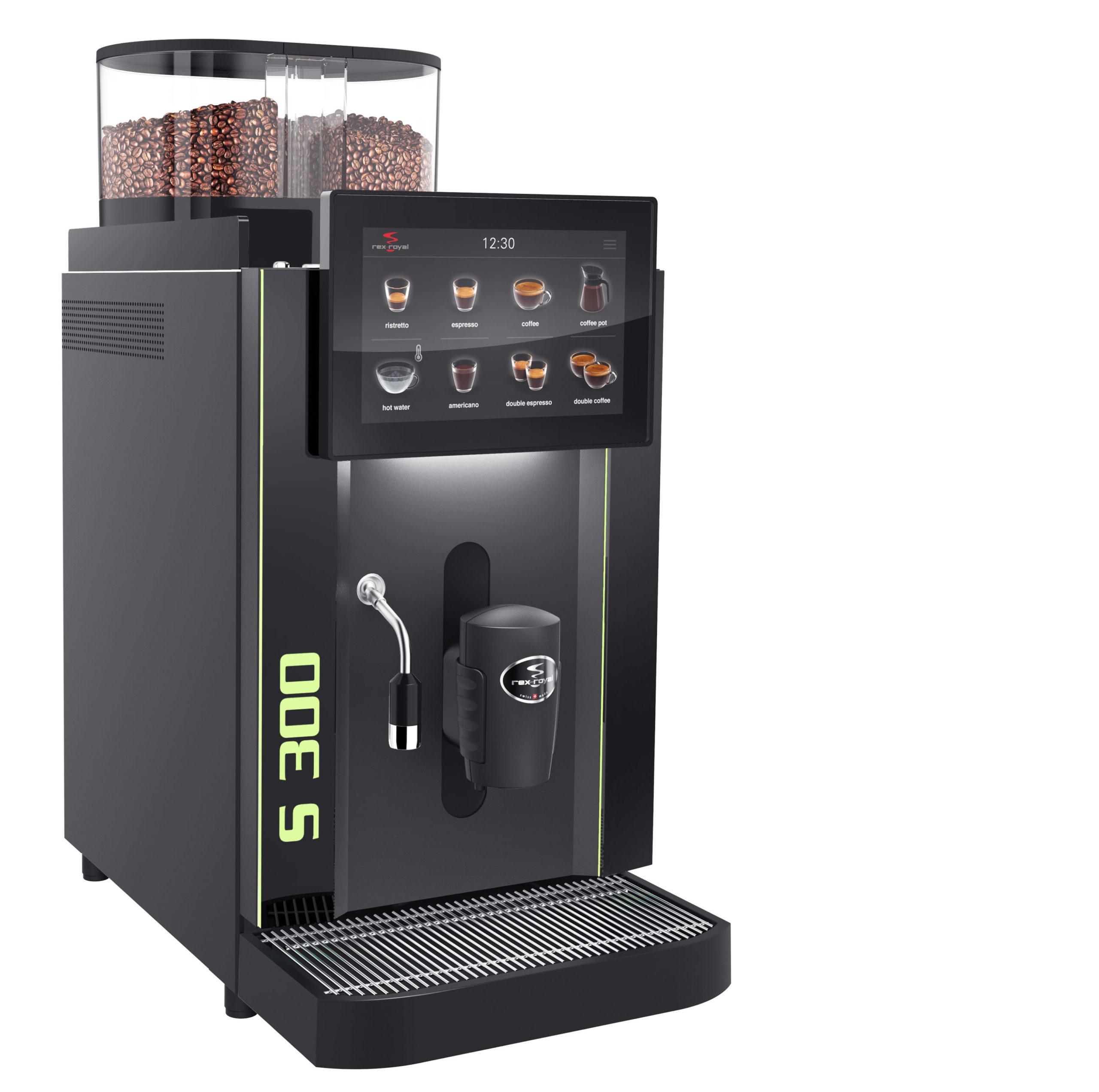 Machine à café automatique Rex Royal S300 CT